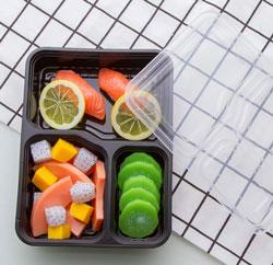Boite à lunch en plastique