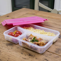 Lunch box à l'américaine