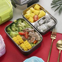 Lunch box hermétique compartimentée