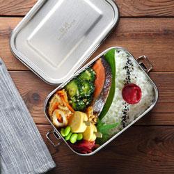 Lunch box en inox