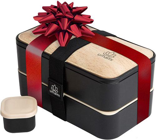 Lunch box décor bambou noir Umami