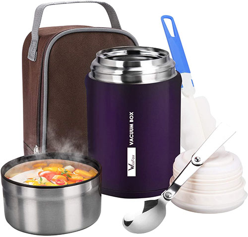 thermos alimentaire chaud pendant 12h