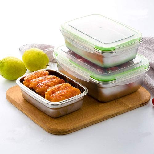 boites alimentaires hermétiques en inox