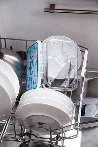 Boite de gouter pour les repas des enfants mise au lave-vaiselle