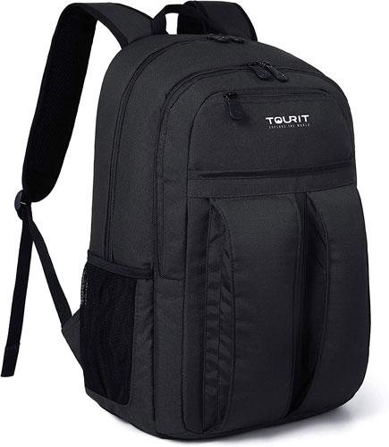 sac à dos isotherme de randonnée Tourit 25l noir